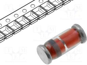 LS4148, Диод: импульсный; SMD; 100В; 0,15А; 4нс; Упаковка: бобина, лента | купить в розницу и оптом