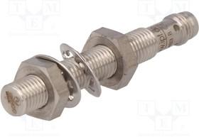 IC080172, Датчик индуктивный, Конф.выхода PNP / NO, 2мм, 10-30ВDC, М8, IP67
