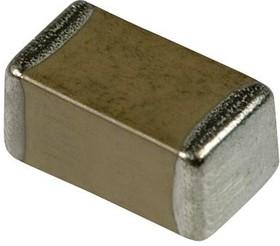 885012006057, Многослойный керамический конденсатор, 0603 [1608 Метрический], 100 пФ, 50 В, ± 5%, C0G / NP0