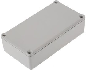 G0124G, ALUMINIUM BOX GREY 111X60X30