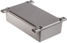 G0124FG, ALUMINIUM BOX GREY FLANGED 111X60X30