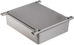 G0473FG, ALUMINIUM BOX GREY FLANGED 119X93.5X34