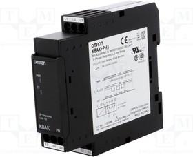 K8AK-PH1, Модуль: реле контроля напряжения; DIN; DPDT; 0,1с; IP20