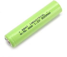 INDUSTRIAL H-AAA900, Аккумулятор промышленный NiMH(ААА/HR03), 900mAh 1.2В, 10,0*44,0mm(1шт.)