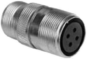 MS3101A14S-9S, Conn Circular SKT 2 POS Solder ST Cable Mount 2 Terminal 1 Port Automotive