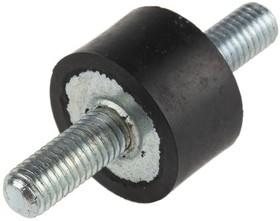 A2515M820-3, Rubber bobbin mt 25 mm M8