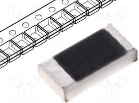 WF25P-22R-5%, Резистор толстопленочный, SMD, 2512, 22Ом, 2Вт, ±5%, -55-155°C