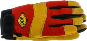 Фото 1/3 Перчатки vibro-PROTECT кожа /спандекс, размер L 648-526