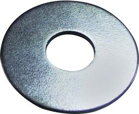 DM620MUSTWAZ100-, Washer, Plain, Steel, 6.4mm, 20mm, Pack of 100
