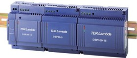 DSP-60-24, DSP DIN Rail Power Supply, Maximum of 24V dc Output Voltage, 2.5A Output Current