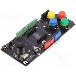 DF-DFR0008, Модуль shield, джойстик,механическая клавиатура