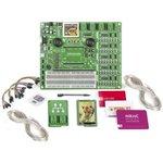 Фото 2/2 MIKROE-2655, Комплект разработчика, MikroLAB для Mikromedia, микроконтроллер PIC32, компилятор MicroC