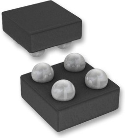 MAX9634HERS+T, Токочувствительный усилитель, высокой стороны, прецизионный, 1 Усилитель, UCSP, 4 вывод(-ов)