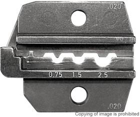 624 020 3 0, Матрица обжимного инструмента, Неизолированные Кольцевые Клеммы 20-14AWG