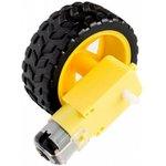 WHEEL-MOTOR, Колесо для робототехники d=65мм с мотором 1:48