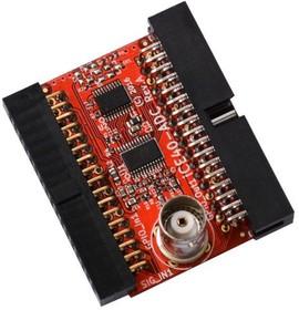 Фото 1/2 iCE40-ADC, Модуль расширения с АЦП для iCE40HX1K-EVB или iCE40HX8K-EVB