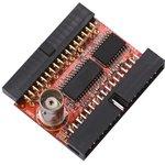 iCE40-DAC, Модуль расширения с ЦАП для iCE40HX1K-EVB или ...