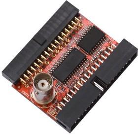 Фото 1/2 iCE40-DAC, Модуль расширения с ЦАП для iCE40HX1K-EVB или iCE40HX8K-EVB