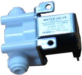 Фото 1/3 WATER-VALVE-6.5MM-12VDC, Электромагнитный клапан для воды и воздуха, рабочее напряжение 12В