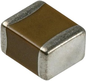 Фото 1/3 C1608X5R0J106M080AB, Многослойный керамический конденсатор, 10 мкФ, 6.3 В, 0603 [1608 Метрический], ± 20%, X5R