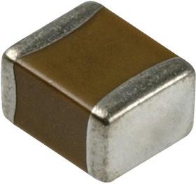 C1608C0G2E331J080AA, Многослойный керамический конденсатор, 0603 [1608 Метрический], 330 пФ, 250 В, ± 5%, C0G / NP0