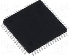 ATSAMD21J15B-AU, Микроконтроллер ARM; SRAM:4кБ; Flash:32кБ; TQFP64; 1,62 3,63ВDC
