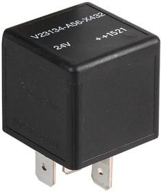 V23134A0052X278, Автомобильное реле, 12 В DC, 60 А, SPDT, Гнездо, Быстрое Соединение, Power Relay F4 Series
