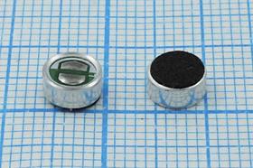 Фото 1/2 Микрофон обратный электретный всенаправленный диаметром 6мм и высотой 3мм;№ 4273 микэ 6,0x 3,0\OB\2C\-40\ KEC2740TBL-T
