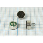 Микрофон электретный всенаправленный c выводами размерами 9.7x4.5мм ...