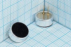 Микрофон электретный всенаправленный,чувствит -44dB(0дБ=1В/ Па)=-64dB(1V/ мкбар),9.7x4.5мм;№4218м микэ 9,7x 4,5\O\2P\-44\KPCM- G97H45P-64dB-