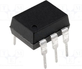 TCDT1102, Optocoupler DC-IN 1-CH Transistor DC-OUT 6-Pin PDIP