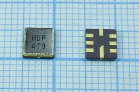Фильтр на ПАВ 426МГц, полоса пропускания 6000кГц, в корпусе SMD 5x5мм, SAW ф 426000 \пол\ 6000/3\S05050C8\\ HDF426AS3\\(HDF419