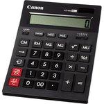 Калькулятор бухгалтерский Canon AS-444 II черный 12-разр.