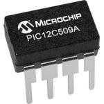 PIC12C509A-04I/SN, 8 Bit MCU, программируемый один раз ...