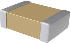 Фото 1/3 C0603C102F5GACTU, Cap Ceramic 0.001uF 50V C0G 1% Pad SMD 0603 125°C Extreme Low ESR T/R