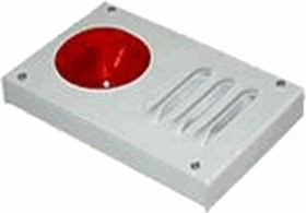 МАЯК-24-К Комбинированный оповещатель, 24В, металлический корпус, 20мА + звук 20мА, 105дБ, IP52