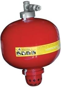 Буран-8 У Модуль порошкового пожаротушения для установки на низких средних и высоких потолках.