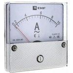 Амперметр AMA-801 аналоговый на панель круглый вырез 600А трансф. подкл ...