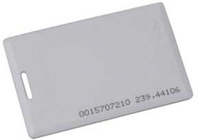 ST-PC010MF Cмарт карта Mifare 1K, стандартная, 86х54х1.6мм.