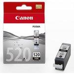 Двойная упаковка картриджей CANON PGI-520BK 2932B012, черный