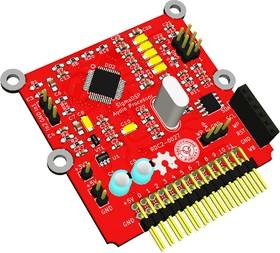Фото 1/2 DSP RDC2-0027v2, Модуль цифровой обработки звука на SigmaDSP ADAU1701, SigmaStudio