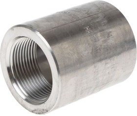1 1/4IN FULL COUPLING, 1 F/STEEL 316 JOINT