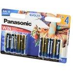 Panasonic EVOLTA LR6 4+4шт Cirque Du Soleil BL8, Элемент питания