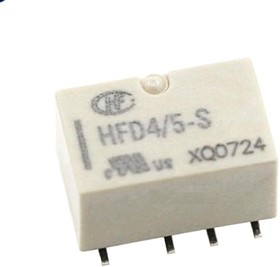 HFD4/5SR (IM03GR), Реле 5VDC 2пер. 2A/250VAC, SMD