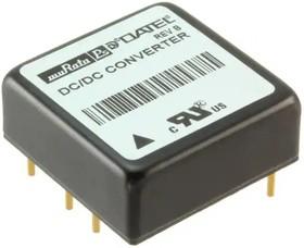 BPM15-120-Q48-C, Module DC-DC 48VIN 2-OUT 12V/-12V 0.625A/-0.625A 15W 6-Pin Tube