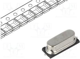 16M-49SMD-SR, Резонатор: кварцевый; 16МГц; ±30ppm; 20пФ; SMD; HC49SMD; Шаг:4,88мм | купить в розницу и оптом