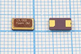 кварцевый резонатор 13МГц в корпусе SMD 6x3.5мм с двумя выводами, нагрузкой 10пФ, 13000 \SMD06035C2\10\ 30\\FSX-6M2\1Г (13.000)