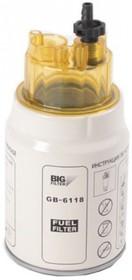 Фото 1/2 Фильтр топливный сепаратор 245 дв ЕВРО-3, КАМАЗ гр,оч,аналог PL270Х BIG GB-6118 GB6118