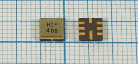 Фильтр на ПАВ 418МГц, полоса пропускания 600кГц, в корпусе SMD 5x5мм, SAW ф 418000 \пол\ 600/3\S05050C8\\ HDF418MS3\\(HDF408