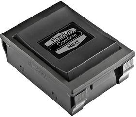 Фото 1/2 IS18WWC1W, Switch Rocker (ON) (ON) (ON) SP3T Rocker OLED 3VA 1000000Cycles